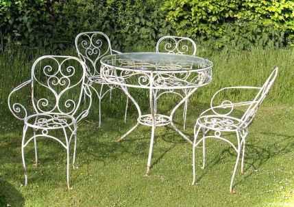 40 Insane Vintage Garden furniture Ideas for Outdoor Living6
