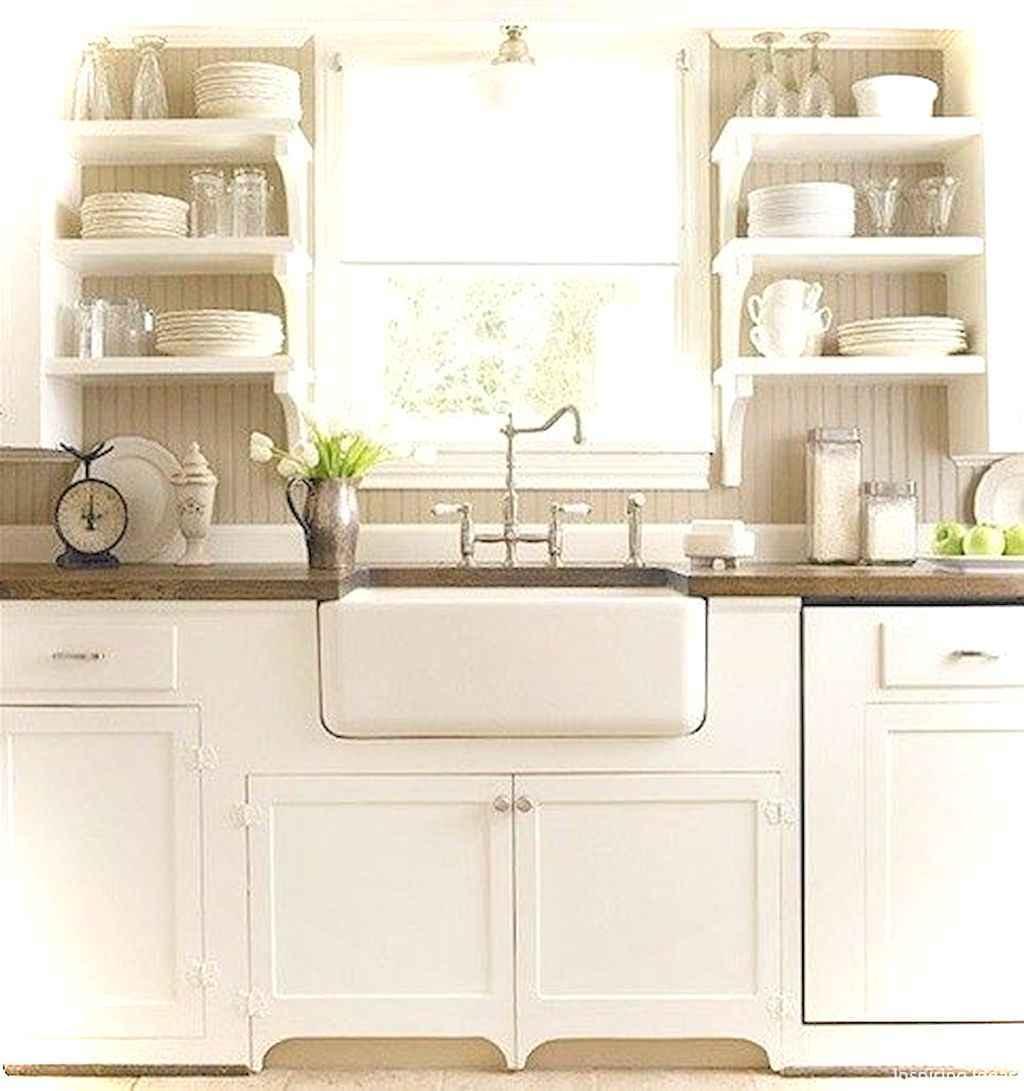 46 Small Cabin Cottage Kitchen Ideas15