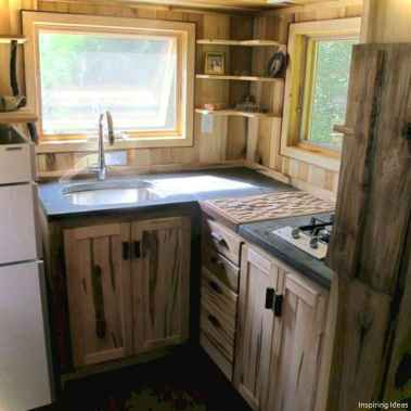 46 Small Cabin Cottage Kitchen Ideas28