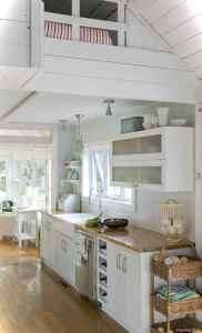 46 Small Cabin Cottage Kitchen Ideas31