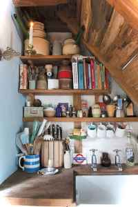 46 Small Cabin Cottage Kitchen Ideas33