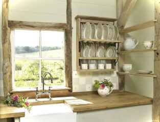 46 Small Cabin Cottage Kitchen Ideas41