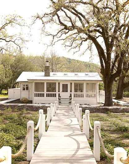 Awesome Cottage House Exterior Ideas Ranch Style 07