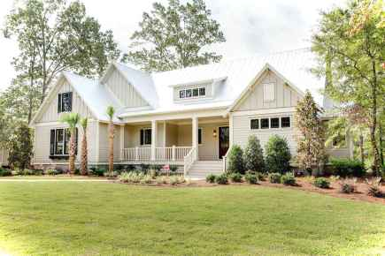 Awesome Cottage House Exterior Ideas Ranch Style 24