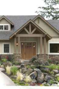 Awesome Cottage House Exterior Ideas Ranch Style 30
