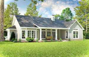 Awesome Cottage House Exterior Ideas Ranch Style 39