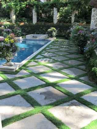 Paver Walkways Ideas for Backyard Patio 11