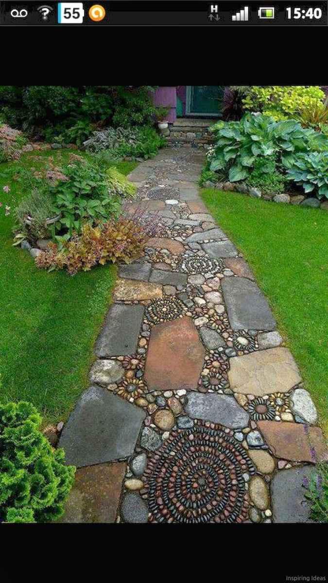 Paver Walkways Ideas for Backyard Patio 19