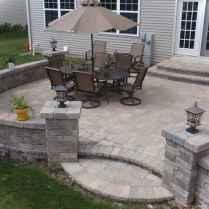 Paver Walkways Ideas for Backyard Patio 27