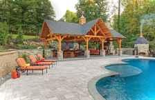 Paver Walkways Ideas for Backyard Patio 35