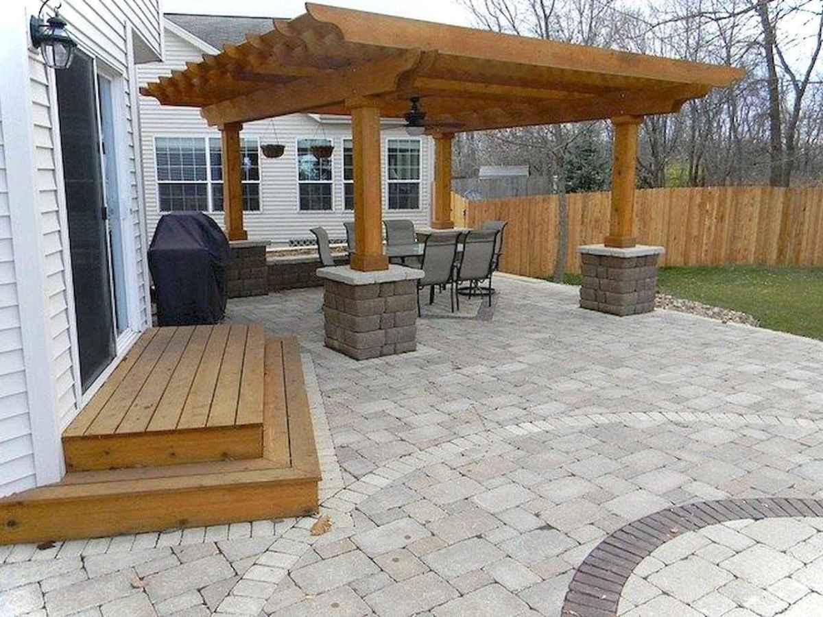Paver Walkways Ideas for Backyard Patio 52