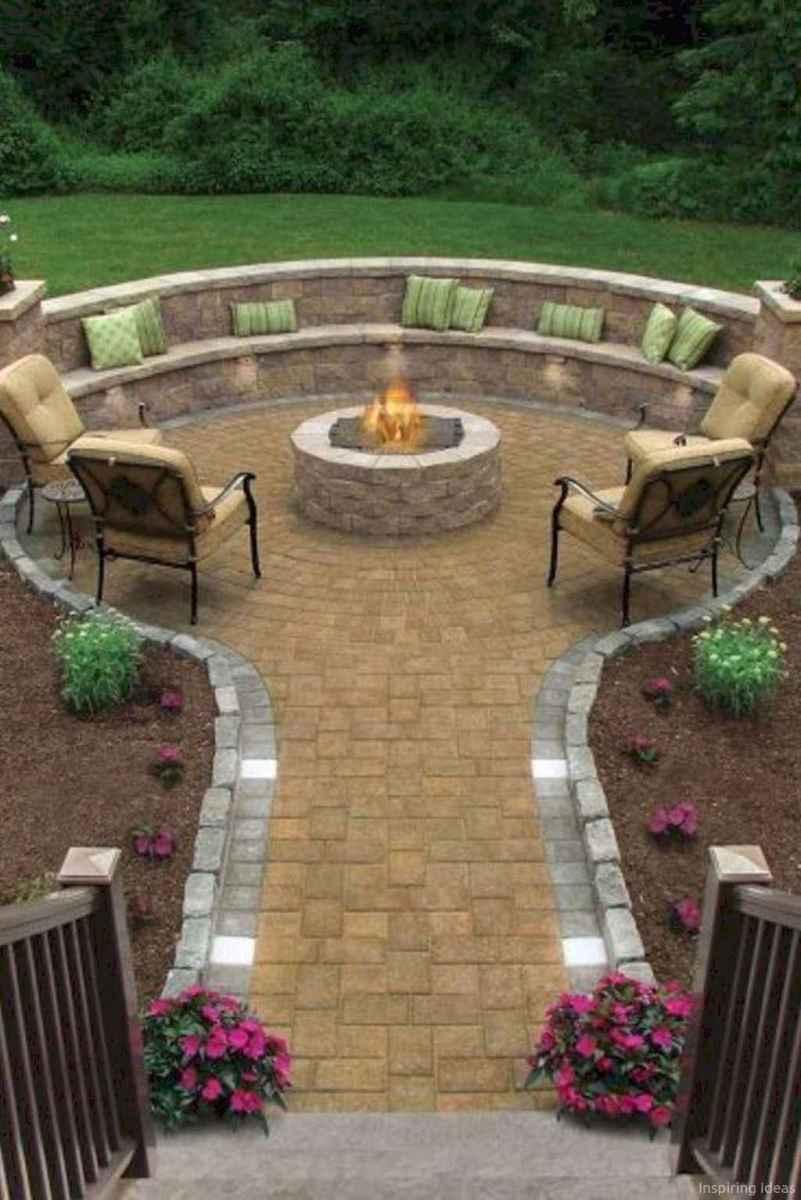 Paver Walkways Ideas for Backyard Patio 62