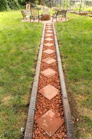 Paver Walkways Ideas for Backyard Patio 71