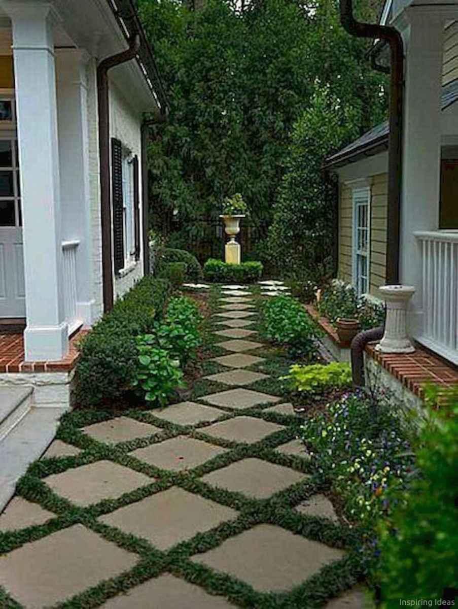 Paver Walkways Ideas for Backyard Patio 76
