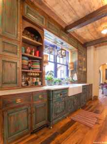 Rustic Cottage Kitchen Cabinets Ideas20