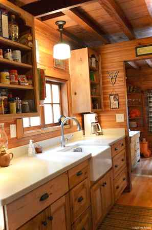 Rustic Cottage Kitchen Cabinets Ideas26