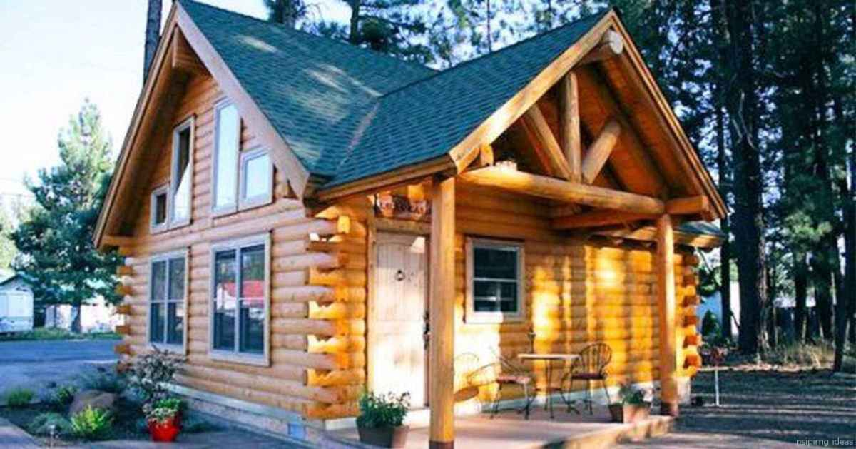10 Affordable Log Cabin Homes Ideas