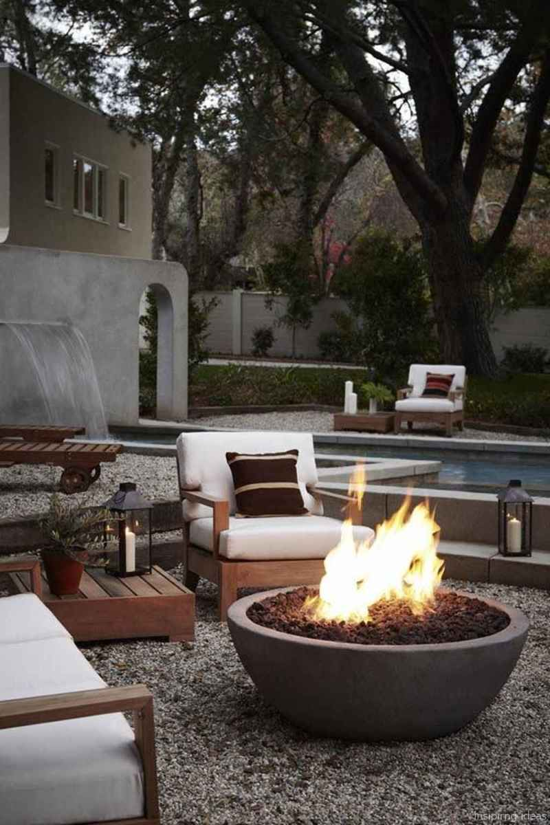 110 Fabulous Gravel Patio Ideas with Fire Pits 02