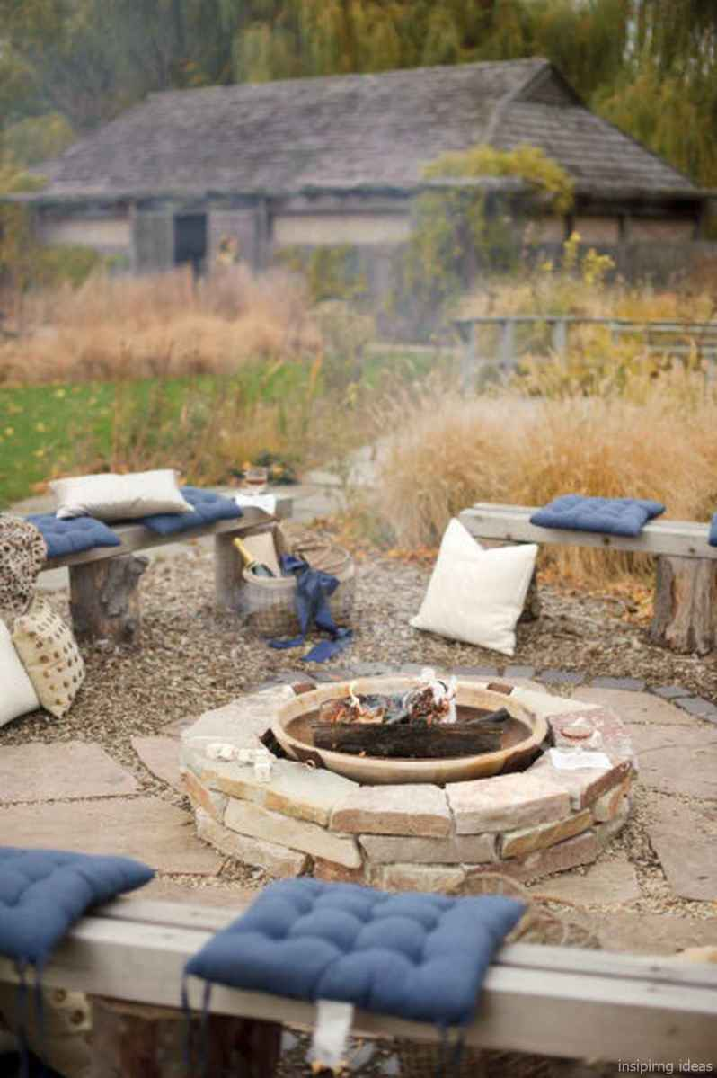 110 Fabulous Gravel Patio Ideas with Fire Pits 102
