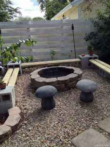 110 Fabulous Gravel Patio Ideas with Fire Pits 109