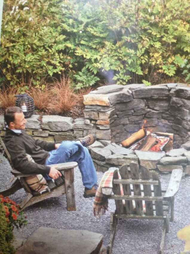 110 Fabulous Gravel Patio Ideas with Fire Pits 110