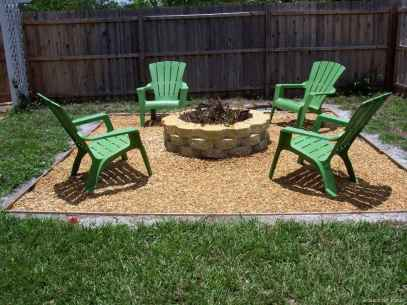 110 Fabulous Gravel Patio Ideas with Fire Pits 16