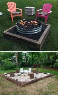 110 Fabulous Gravel Patio Ideas with Fire Pits 21