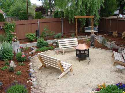 110 Fabulous Gravel Patio Ideas with Fire Pits 22