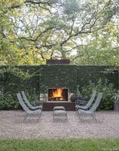 110 Fabulous Gravel Patio Ideas with Fire Pits 26