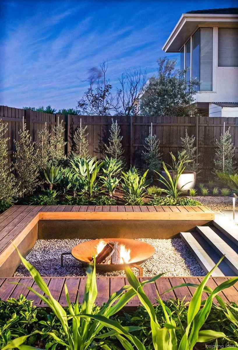 110 Fabulous Gravel Patio Ideas with Fire Pits 34