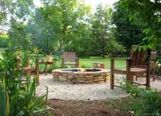 110 Fabulous Gravel Patio Ideas with Fire Pits 54