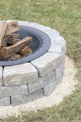 110 Fabulous Gravel Patio Ideas with Fire Pits 55