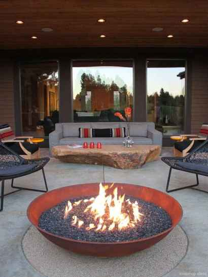 110 Fabulous Gravel Patio Ideas with Fire Pits 85
