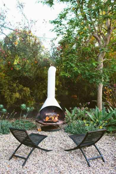 110 Fabulous Gravel Patio Ideas with Fire Pits 93