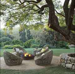 110 Fabulous Gravel Patio Ideas with Fire Pits 94