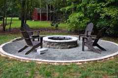 110 Fabulous Gravel Patio Ideas with Fire Pits 95