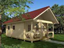 26 Affordable Log Cabin Homes Ideas