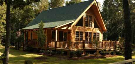 40 Affordable Log Cabin Homes Ideas