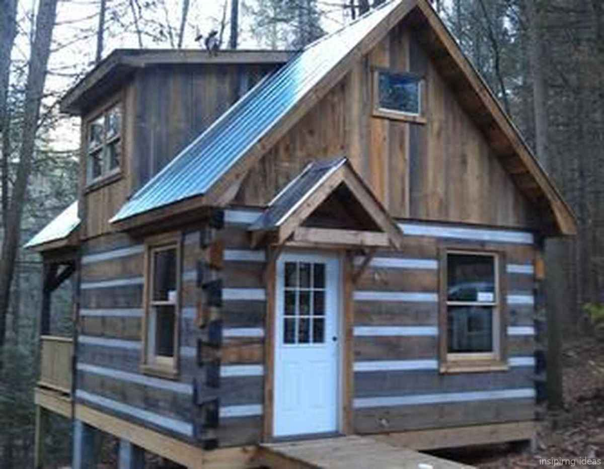 46 Affordable Log Cabin Homes Ideas