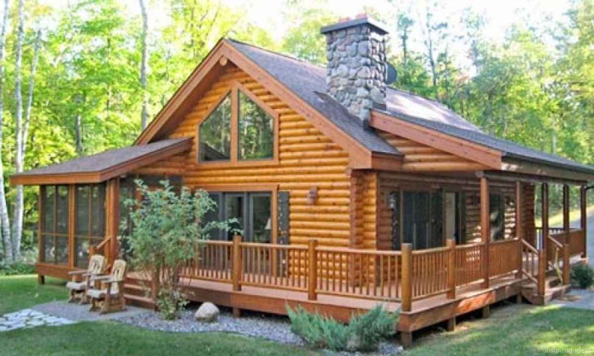 49 Affordable Log Cabin Homes Ideas