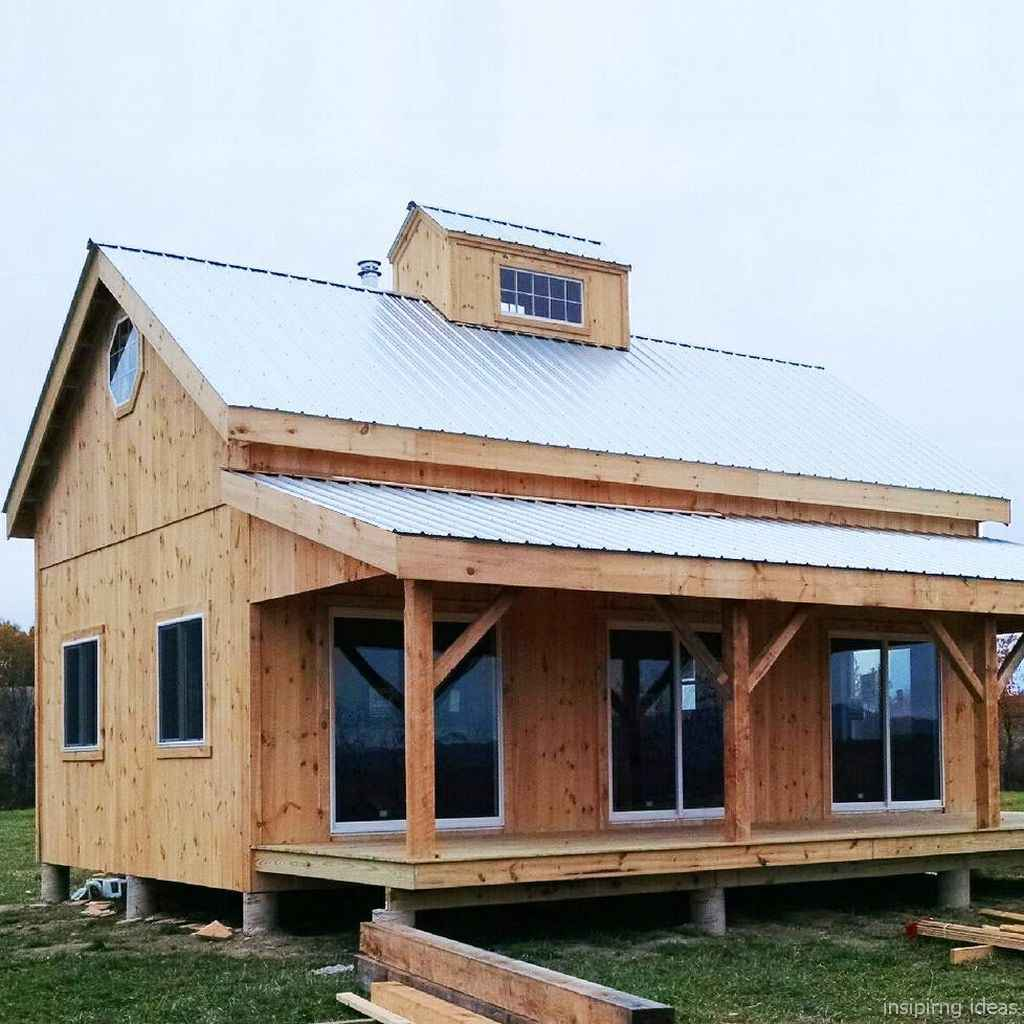 57 Affordable Log Cabin Homes Ideas