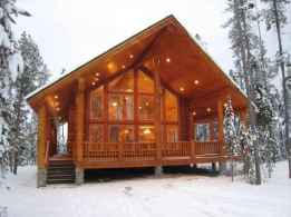 59 Affordable Log Cabin Homes Ideas