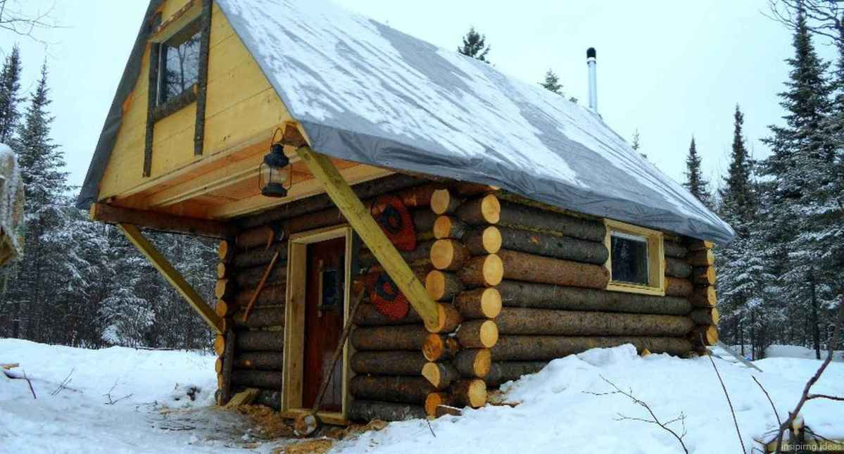 83 Affordable Log Cabin Homes Ideas