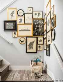 Creative Gallery Wall Ideas 05 for Living Room