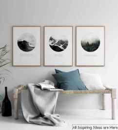 Creative Gallery Wall Ideas 06 for Living Room