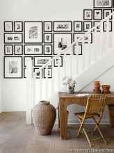 Creative Gallery Wall Ideas 21 for Living Room