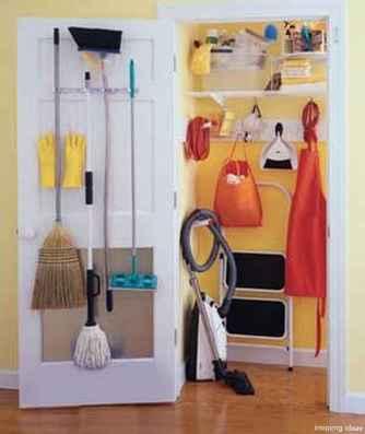 Genius Cleaning Supply Closet Organization Ideas 26