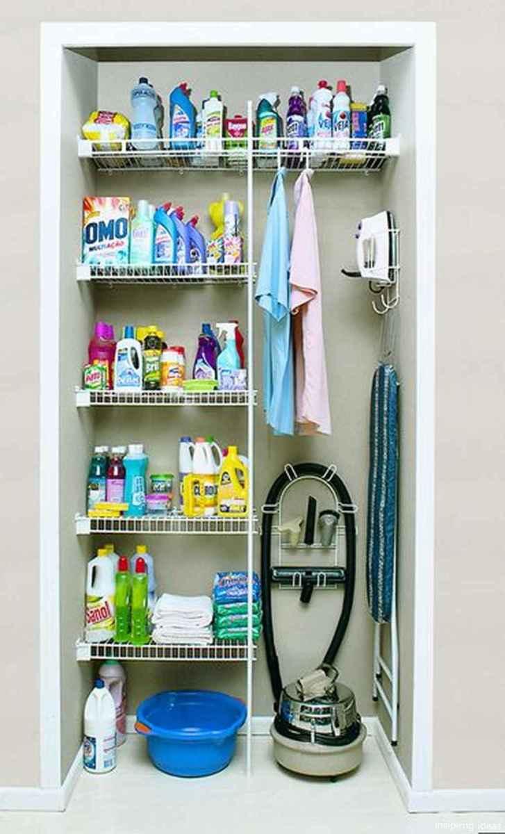 Genius Cleaning Supply Closet Organization Ideas 30