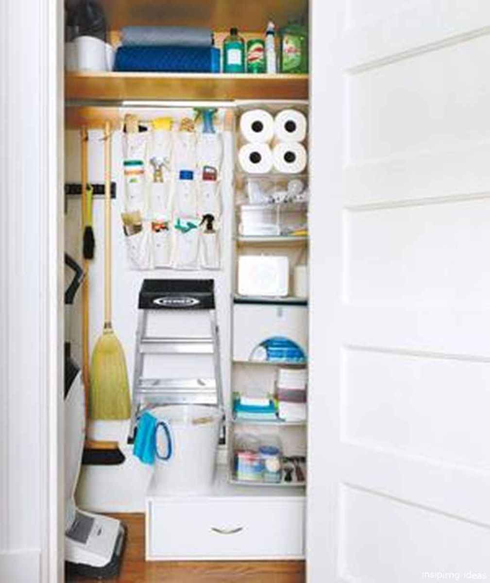 Genius Cleaning Supply Closet Organization Ideas 34