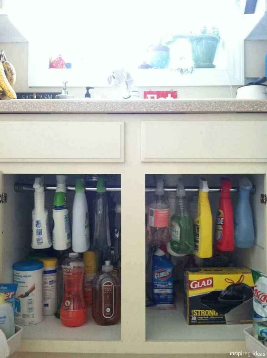 Genius Cleaning Supply Closet Organization Ideas 35